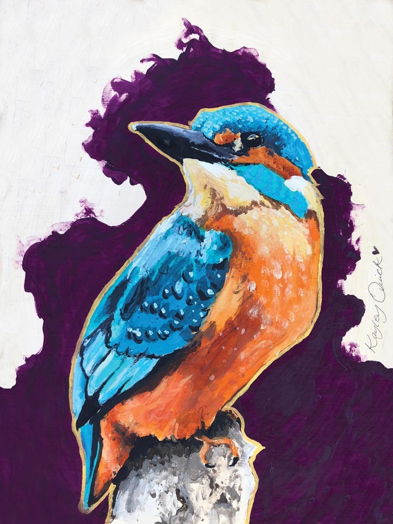Kingfisher by Kayley Quick